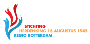 Flyer Stichting Herdenking 15 augustus 1945, Regio Rotterdam beschikbaar